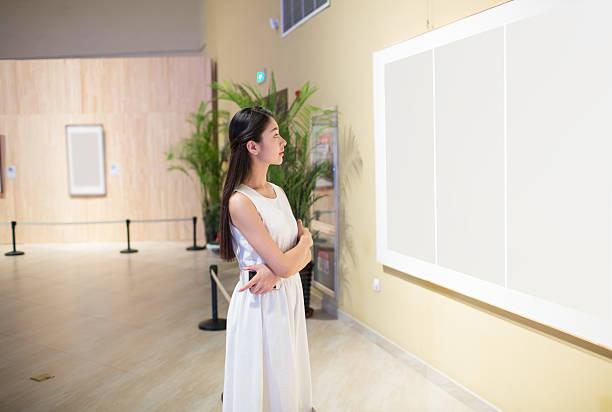 chinesische malerei ausstellung - arten stock-fotos und bilder