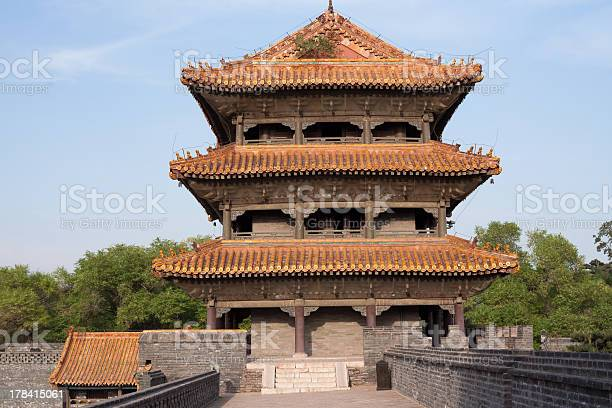 Chinese Palace Architecture Stock Photo - Download Image Now