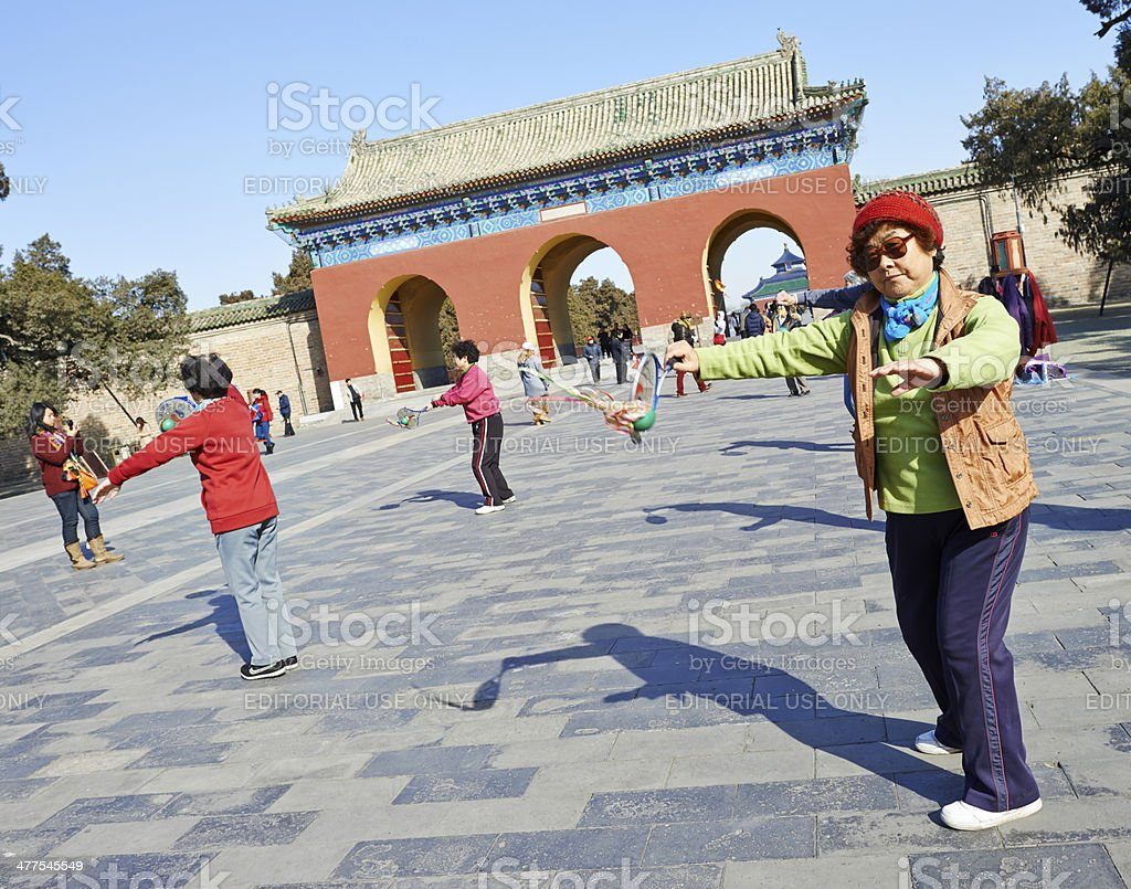 Chinese Pastime royalty-free stock photo