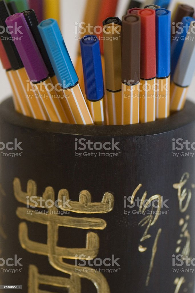 chinese pen royalty-free stock photo