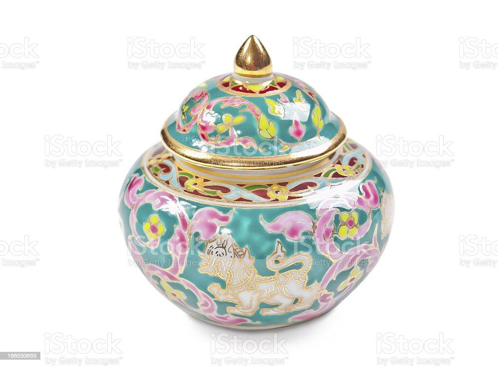 Chinese porcelain bowl royalty-free stock photo