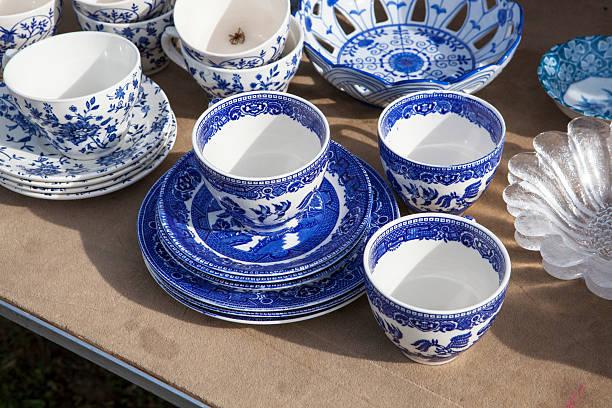 porcelana chinesa no bazaar - porcelana - fotografias e filmes do acervo