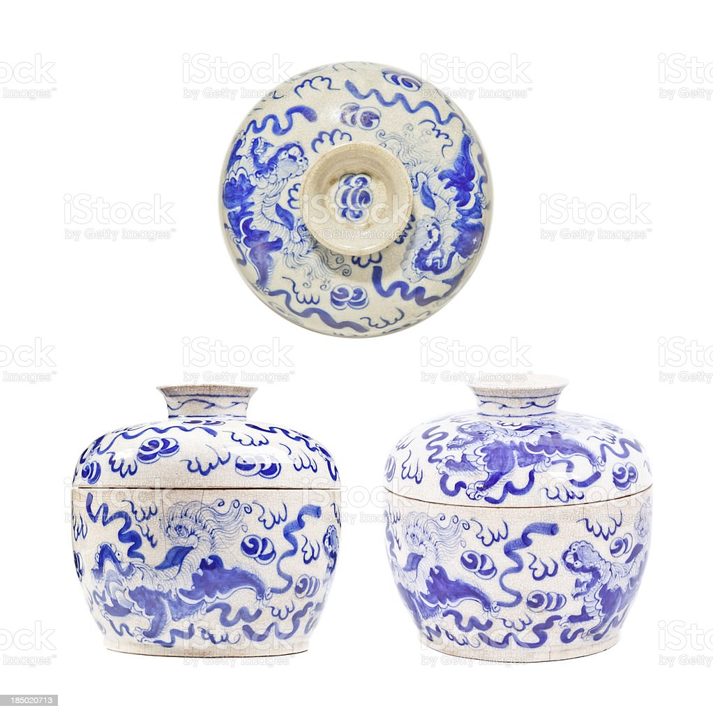 Chinese porcelain royalty-free stock photo