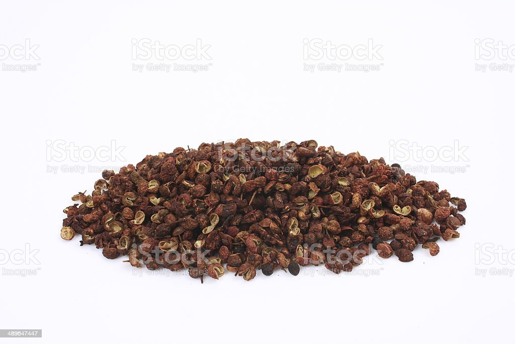 Chinese prickly ash stock photo