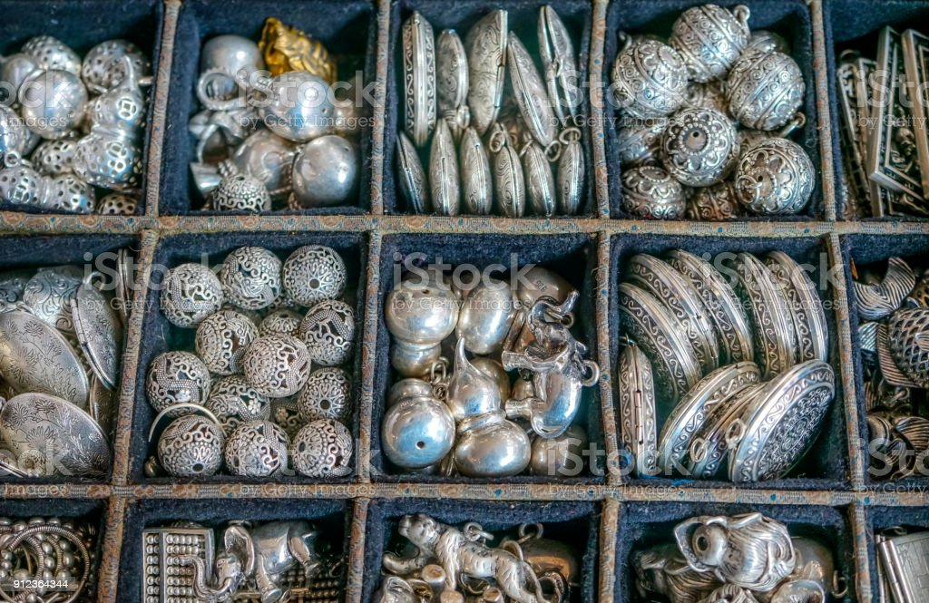 Antiques und Flohmarkt Markt Geschäft Vintage Nachbildung Schild Antik