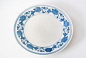 istock Chinese retro porcelain plate 1284355959