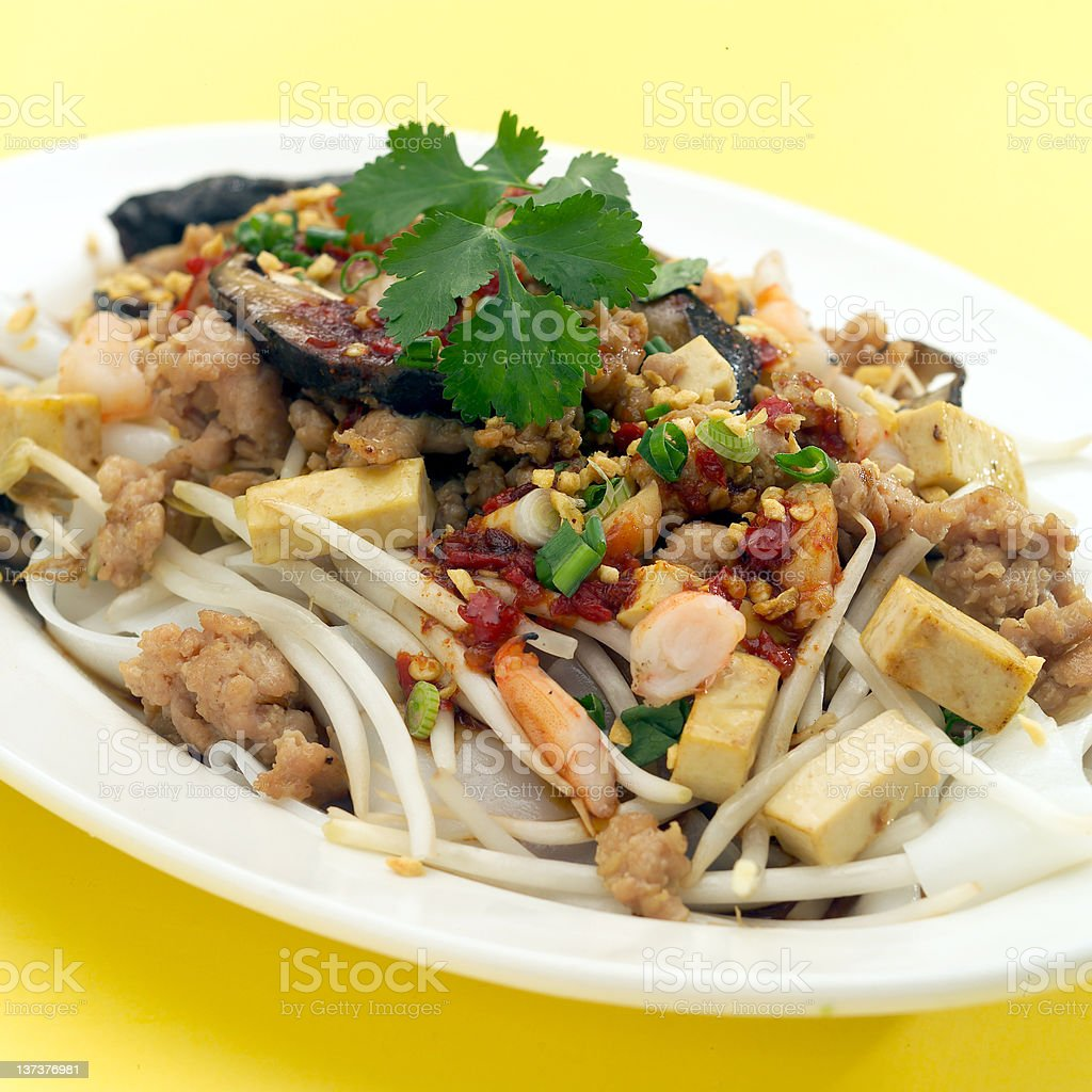 Chinese Rice Noodles stock photo