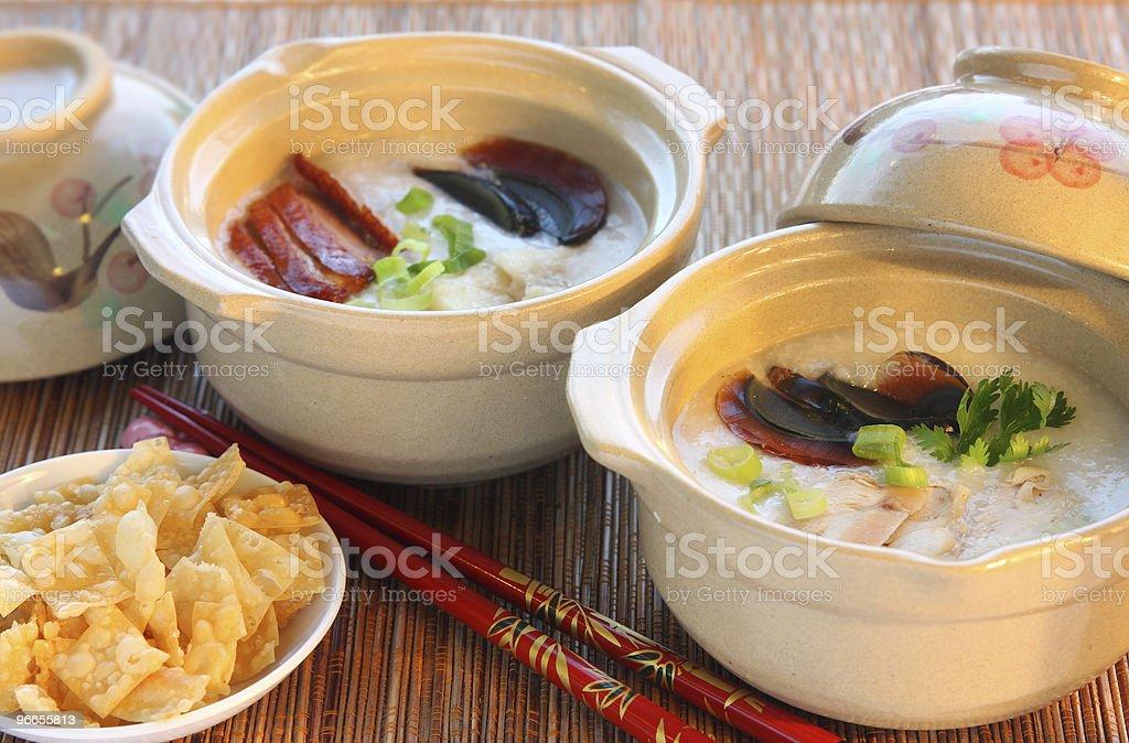 Chinese Rice Porridge royalty-free stock photo