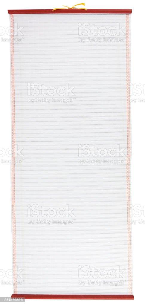 Chinese Scroll stock photo