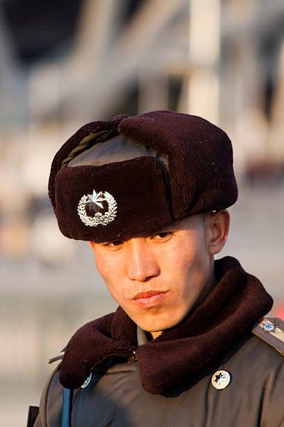 chinese security guard - beijing police, china - chinese military bildbanksfoton och bilder