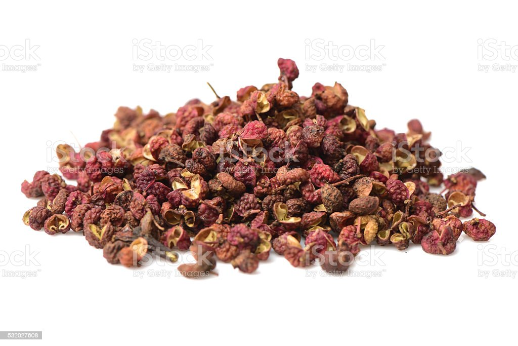 Chinese Sichuan pepper stock photo