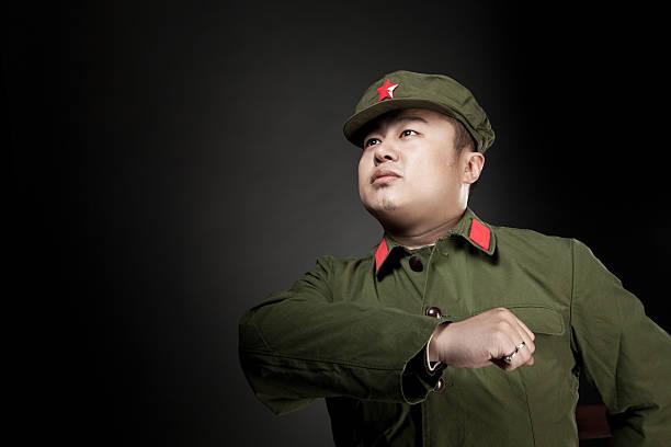 chinese soldier - chinese military bildbanksfoton och bilder