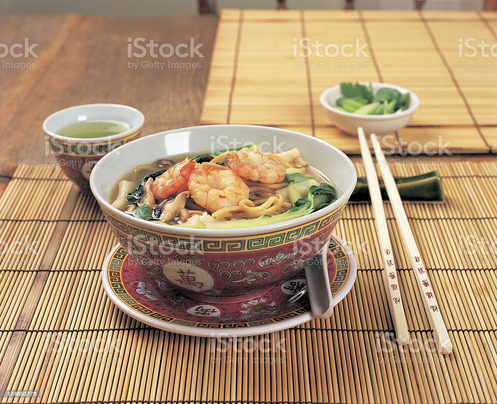 Chinese soup. royalty-free stock photo