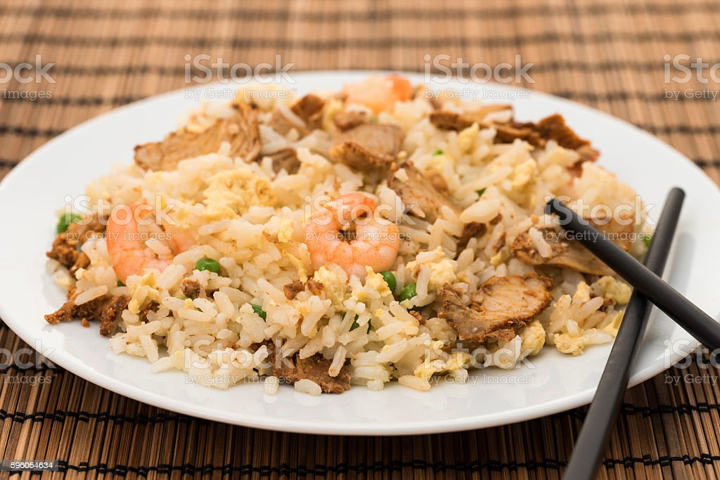 Chinese special fried rice royalty-free stock photo