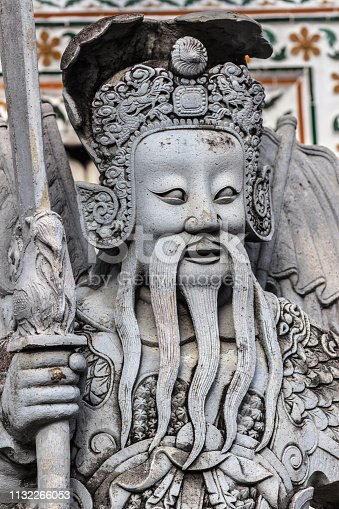 istock Chinese Statue from Ship Ballast at Wat Arun 1132266053