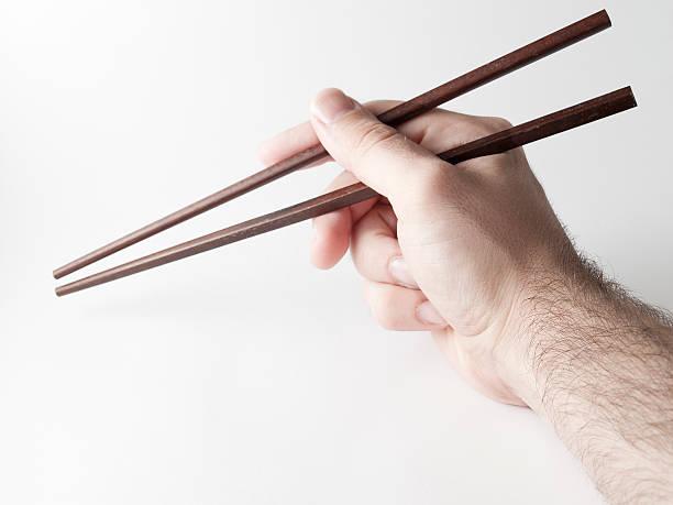 Chinese sticks stock photo