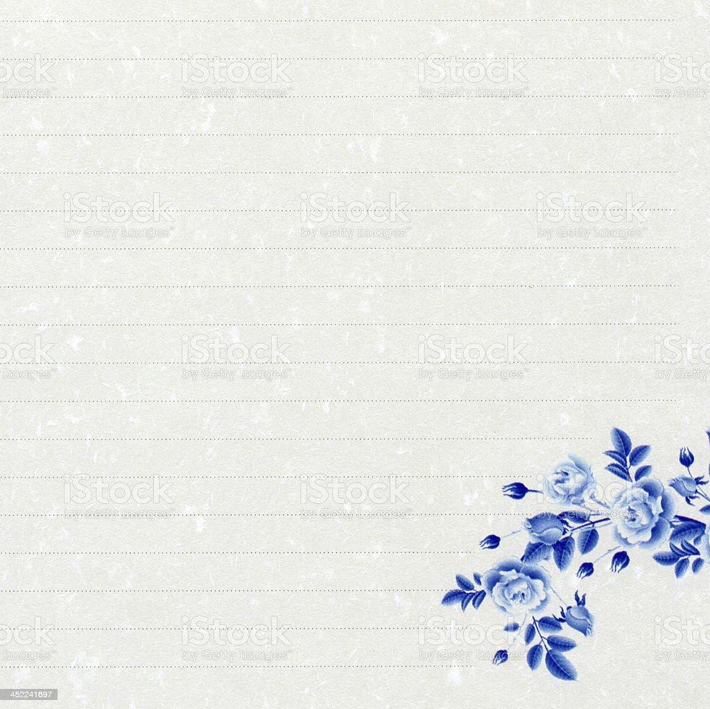 Chinese style stationery royalty-free stock photo