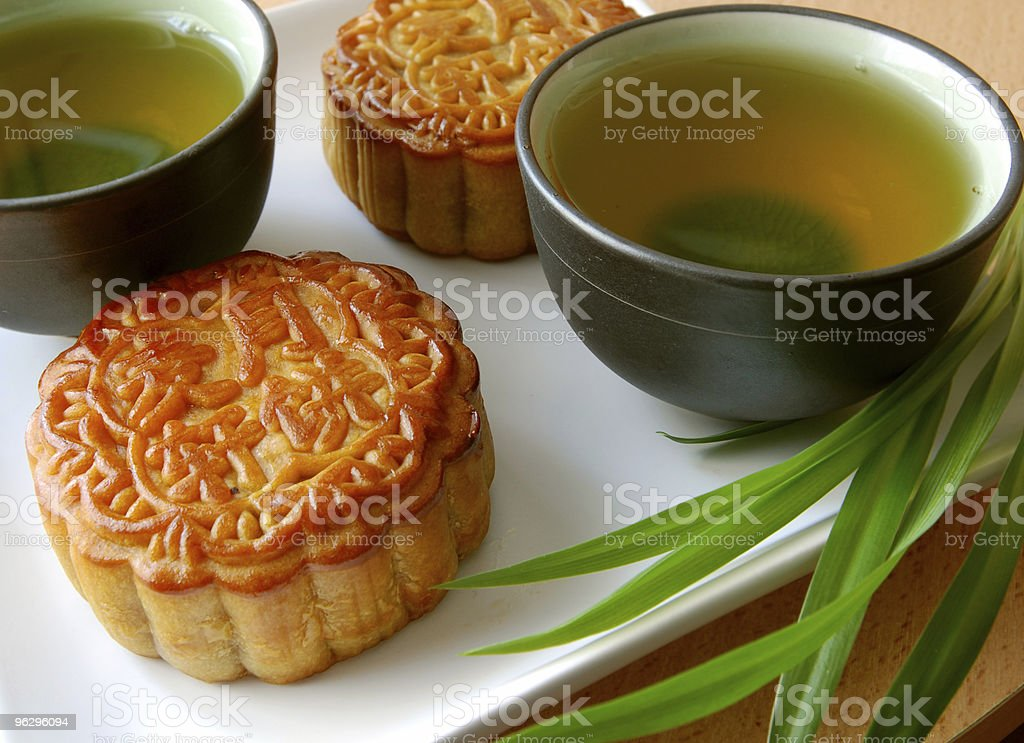 Chinese style teatime stock photo