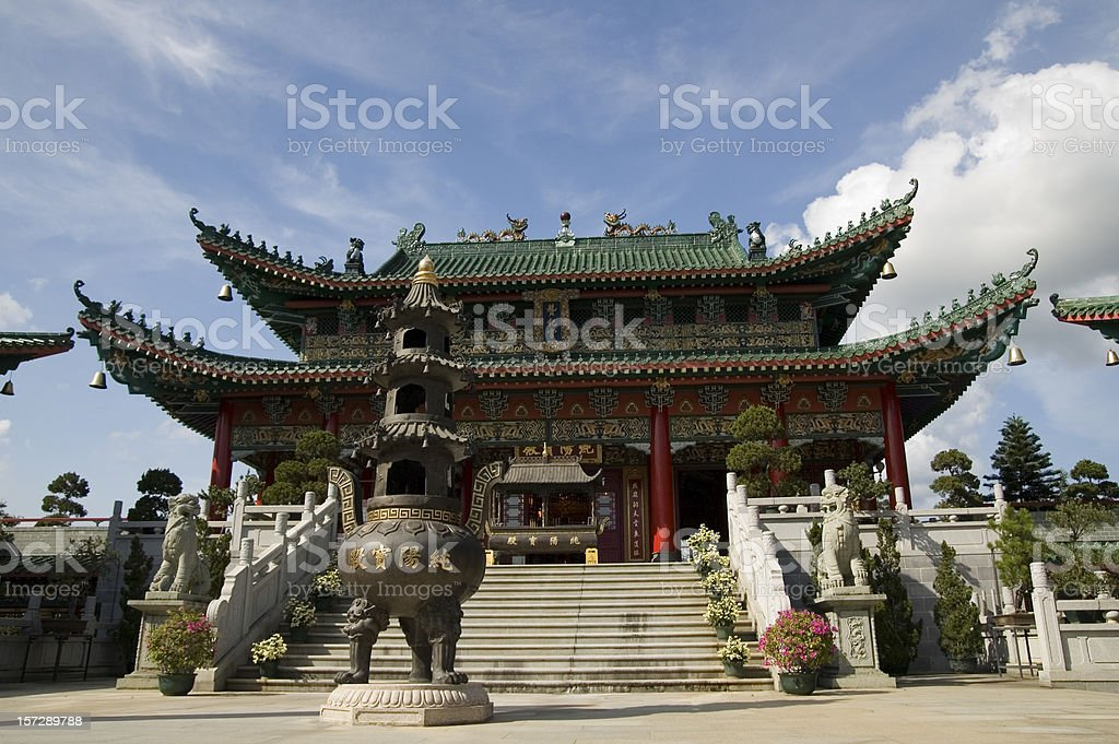 Chinese Sytle Temple royalty-free stock photo