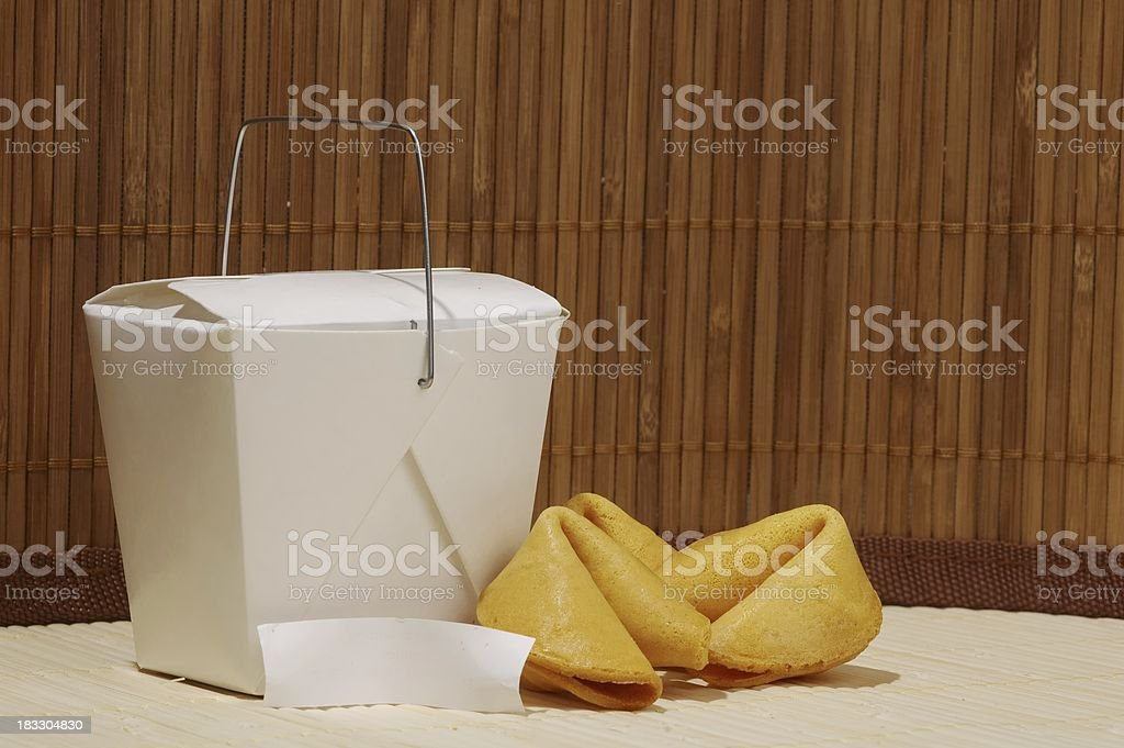 Chinese take out royalty-free stock photo