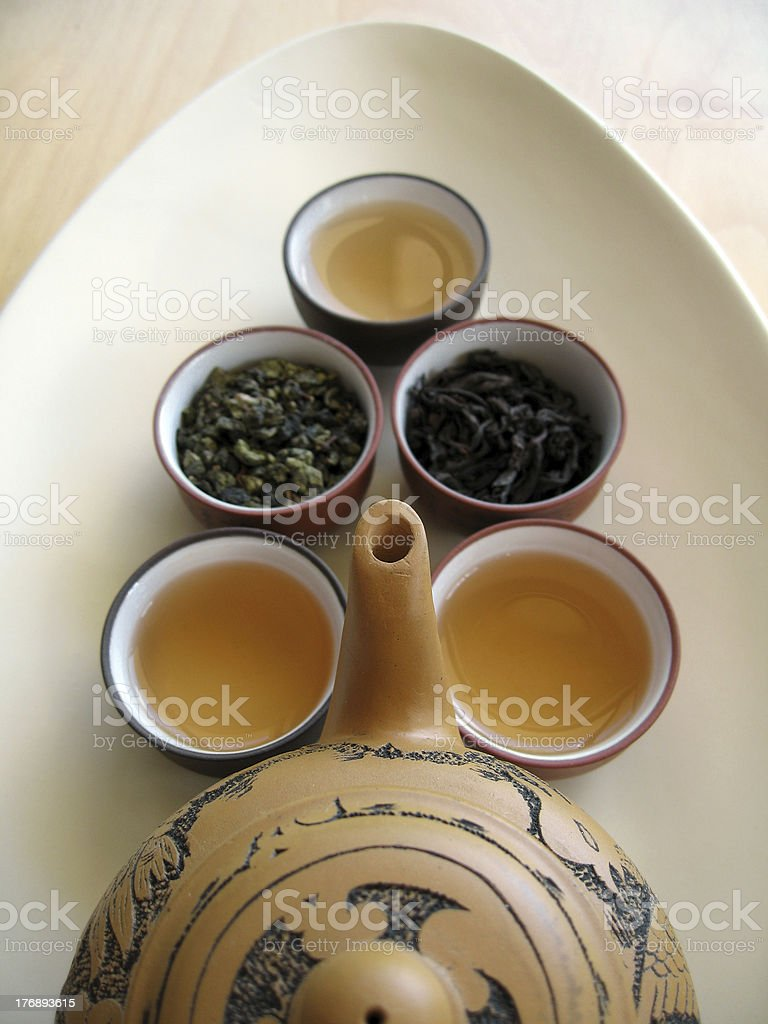 Chinese Tea 5 royalty-free stock photo