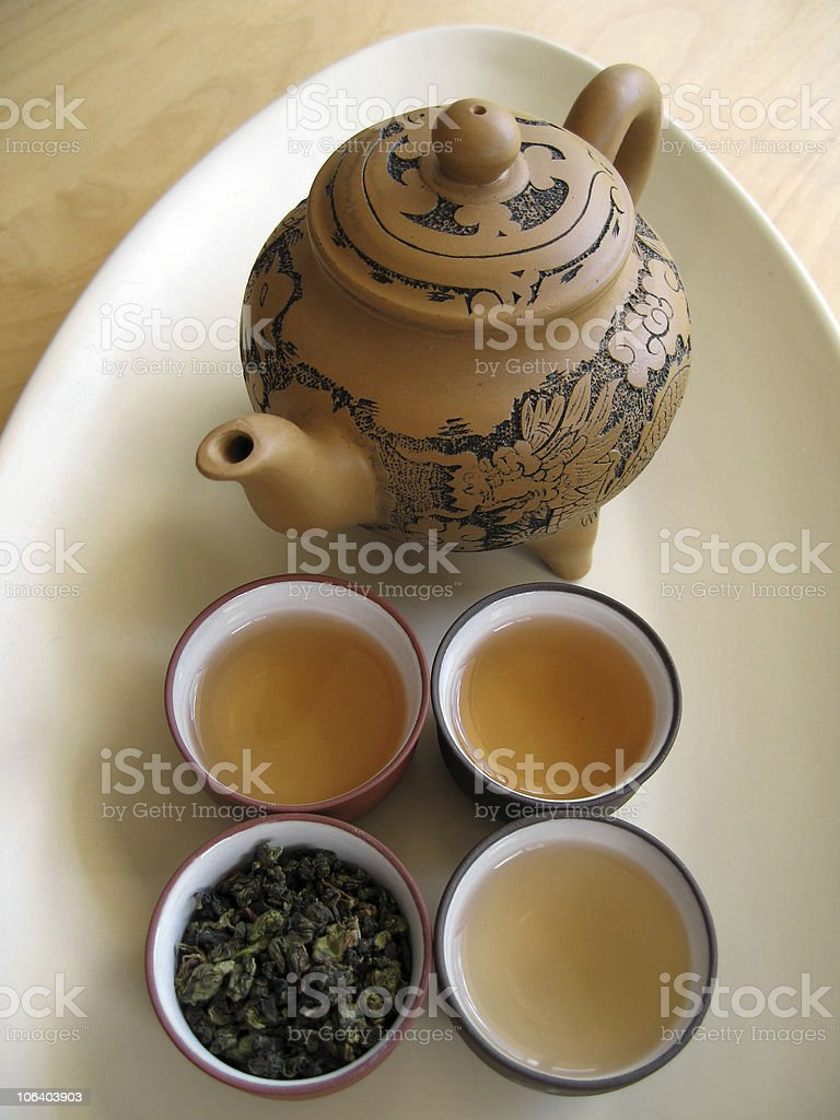 Chinese Tea 9 royalty-free stock photo