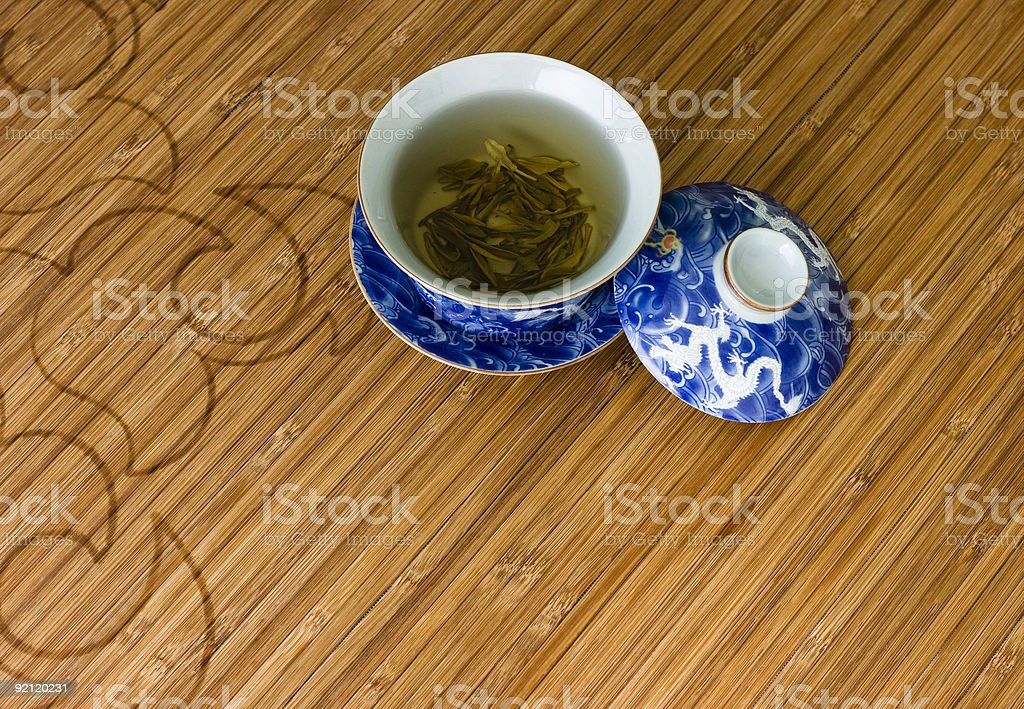 Chinese tea cup royalty-free stock photo