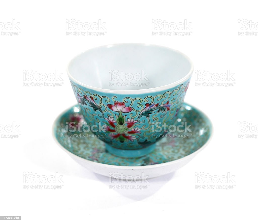 Chinese Tea Cups 04 royalty-free stock photo