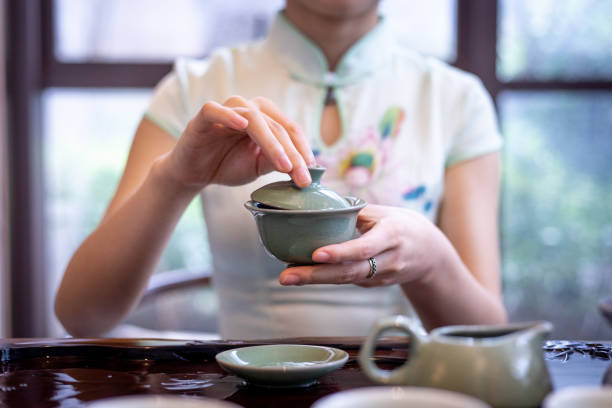 Chinesischer Tee – Foto