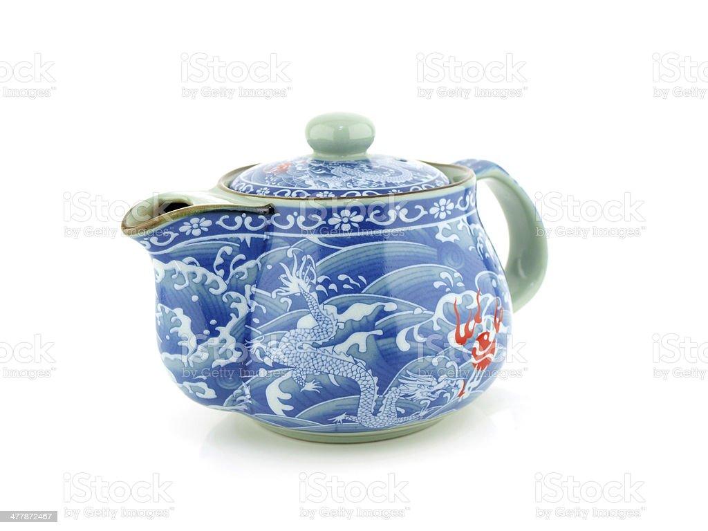 Chinese tea pot stock photo