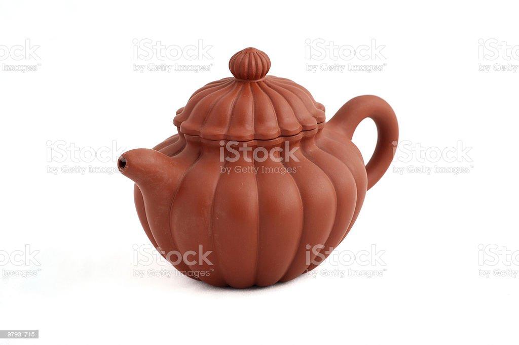 Chinese Teapot royalty-free stock photo