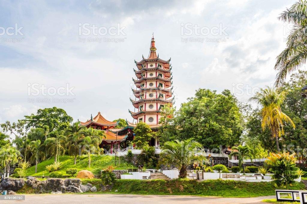 Chinese tempel in Semarang Indonesië foto