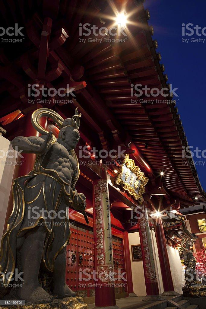 Templo chino foto de stock libre de derechos