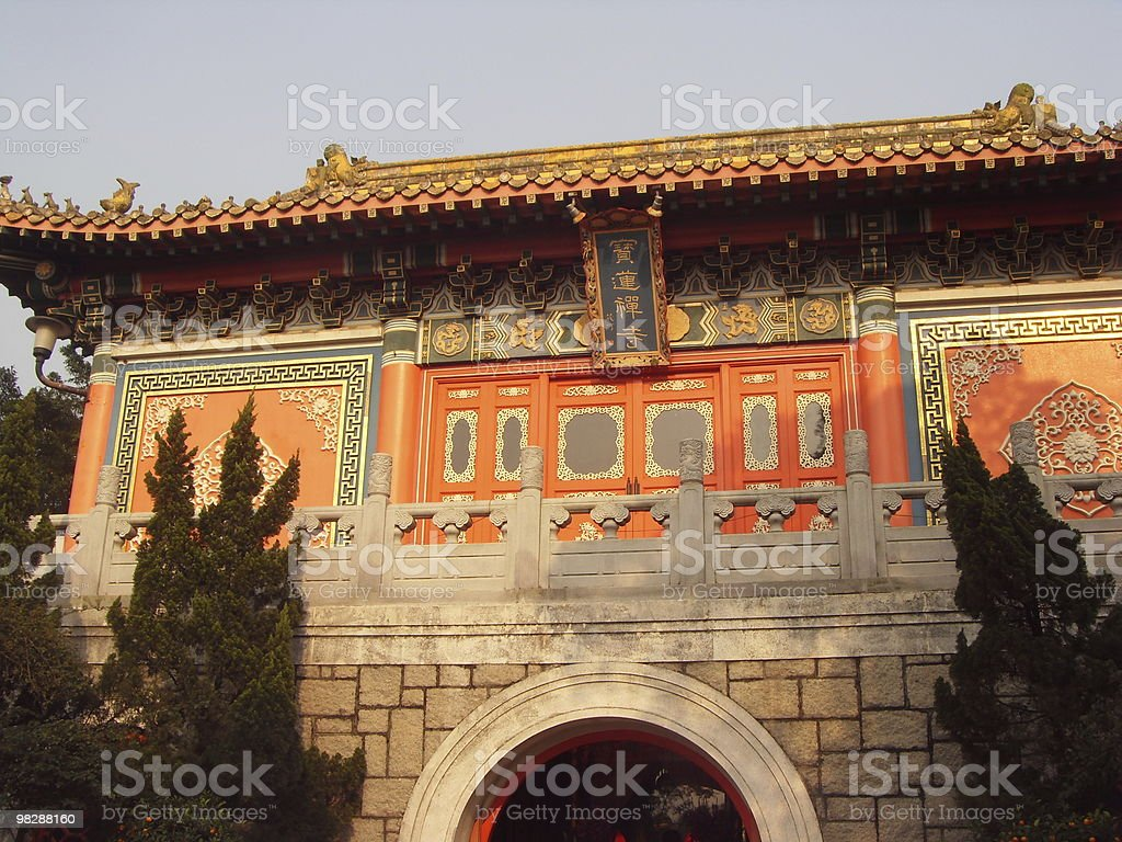 Temple chinois royalty-free stock photo