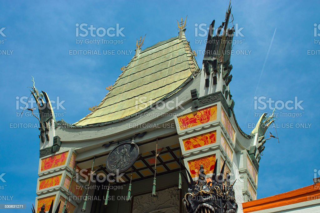 TCL Chinese Theatre stock photo
