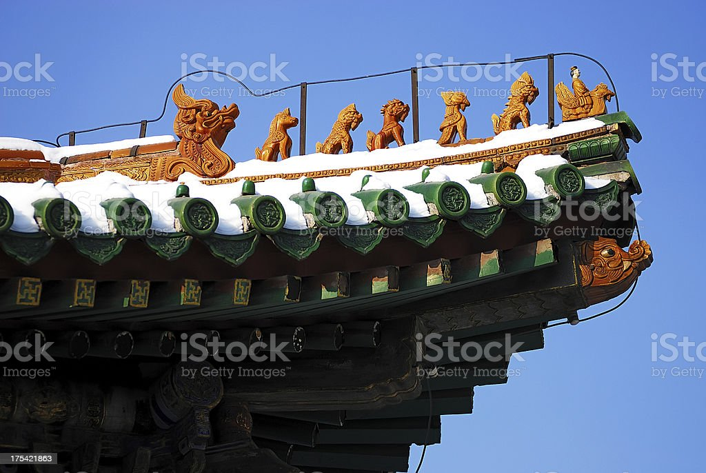 Chinese traditional building royalty-free stock photo