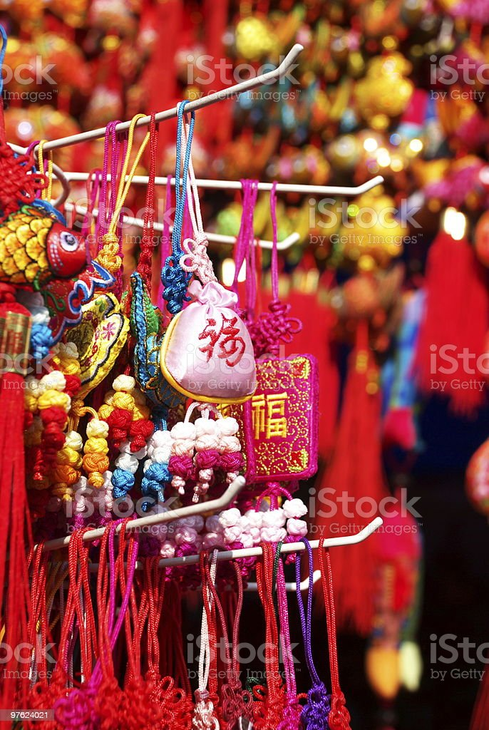 Chinese traditional decorative knot royaltyfri bildbanksbilder