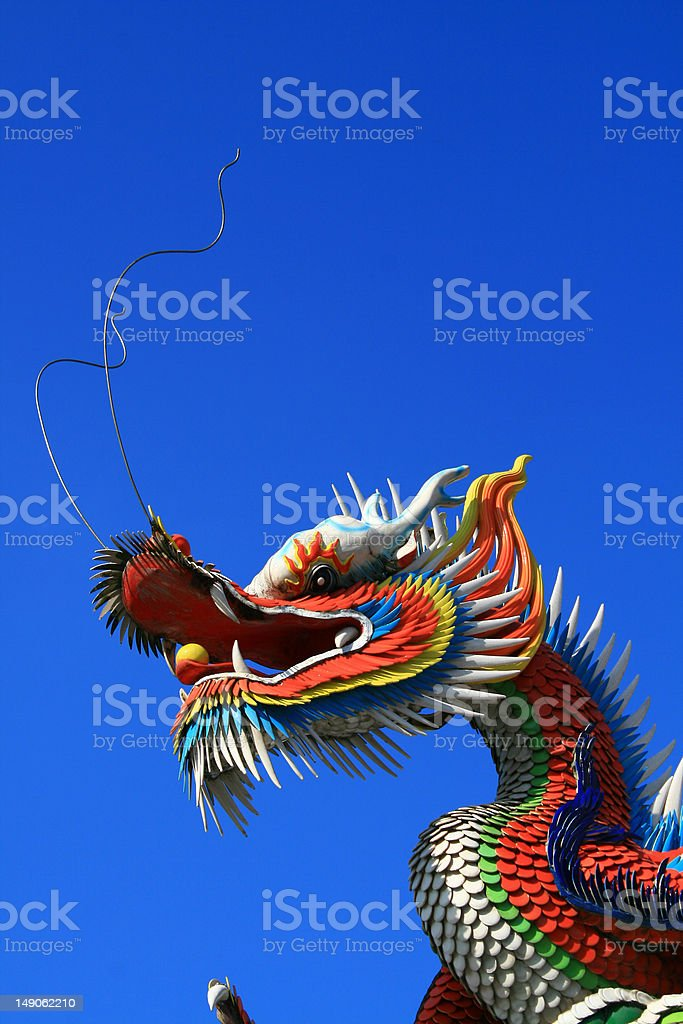 Chinese traditional dragon royalty-free stock photo