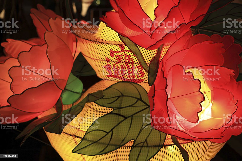 Chinese Traditional Lantern royalty-free stock photo