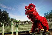 中国の伝統的なライオン・ダンス