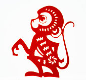Chinese traditional paper cutting, Zodiac signs, Chinese New Year