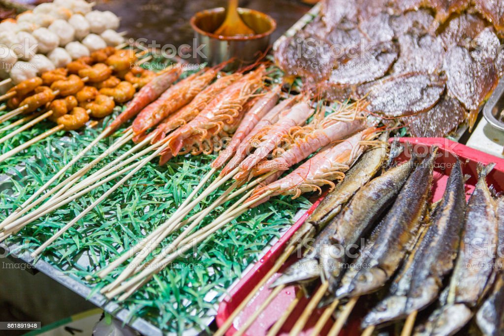 Chinese traditional snack stock photo
