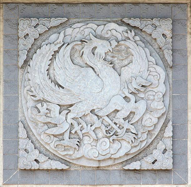 Símbolo Chino tradicional - foto de stock