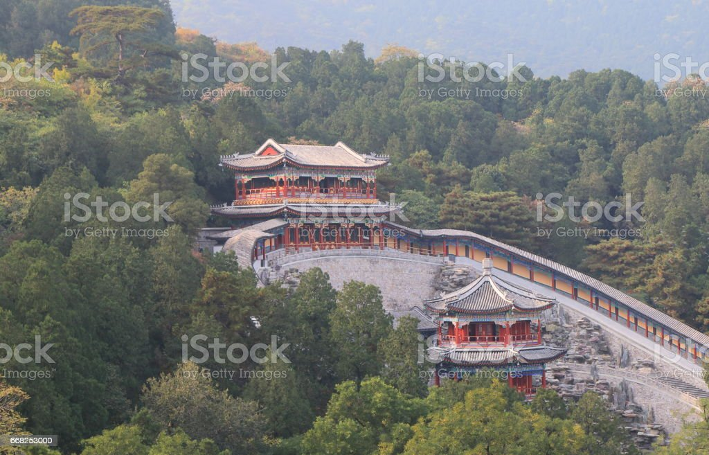 Chinese traditional temple China foto stock royalty-free