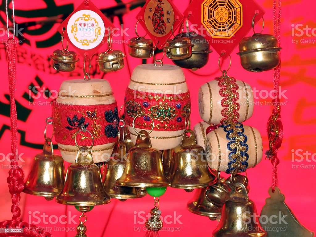 Chinese Traditional Toys royalty-free stock photo