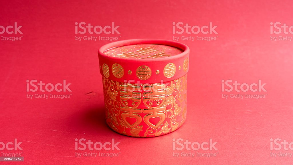 Chinese Wedding Gift Traditions: Chinese Traditional Wedding Gift Box Stock Photo & More