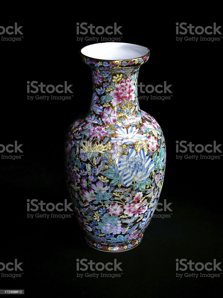 Chinese Vase royalty-free stock photo