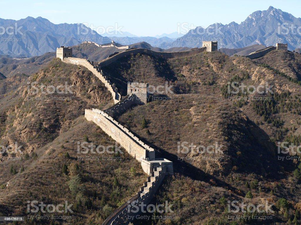 Chinese Wall stock photo