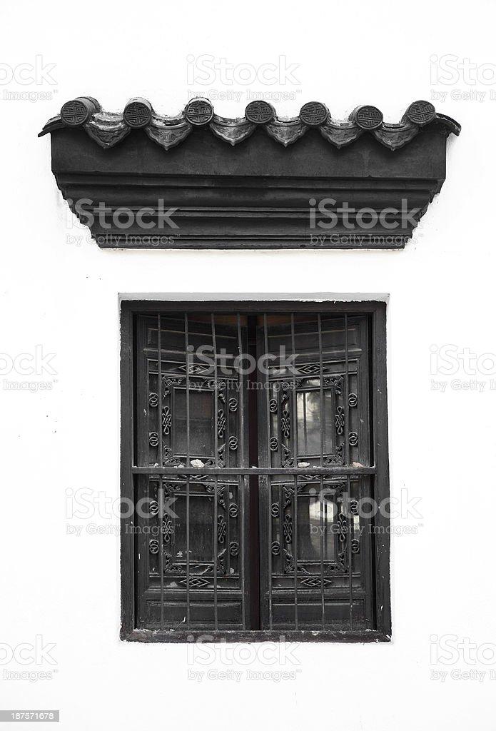 Chinese Window royalty-free stock photo