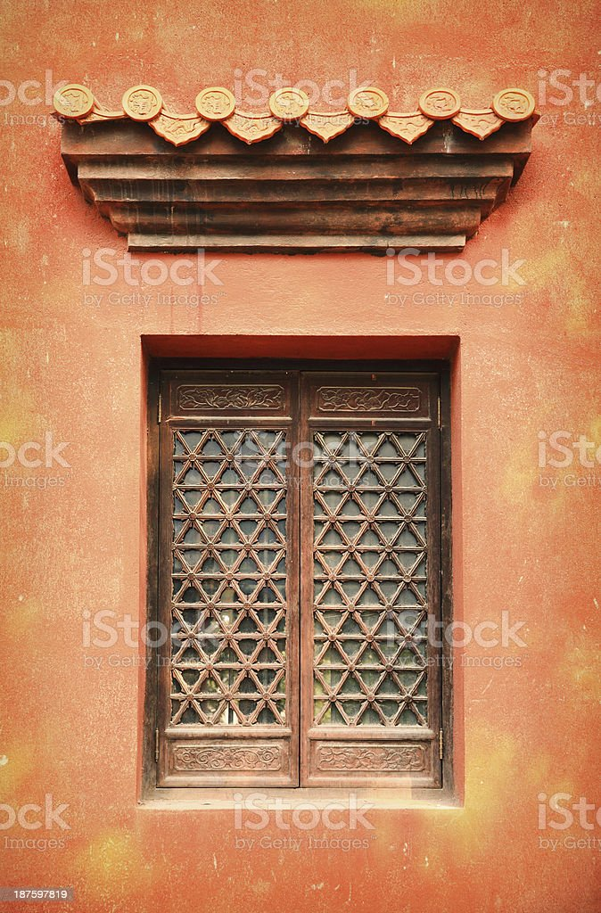 Chinese Window royalty-free stock photo